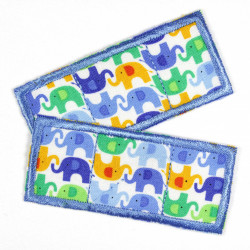 Flickli consolation Set blue elephant
