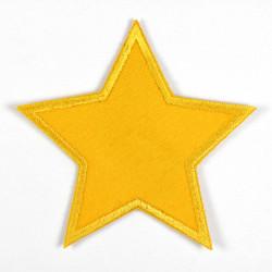 Flickli Stern gelb