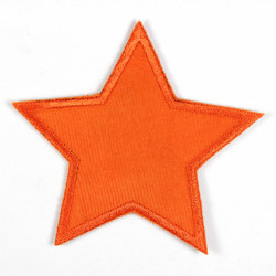 Flickli - the patch! Star orange