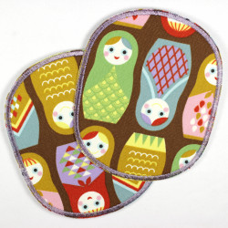 Flickli - the patch! Set retro XL matryoshka