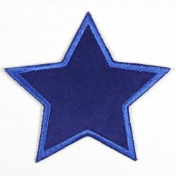 Sterne Flicken Flickli Stern blau
