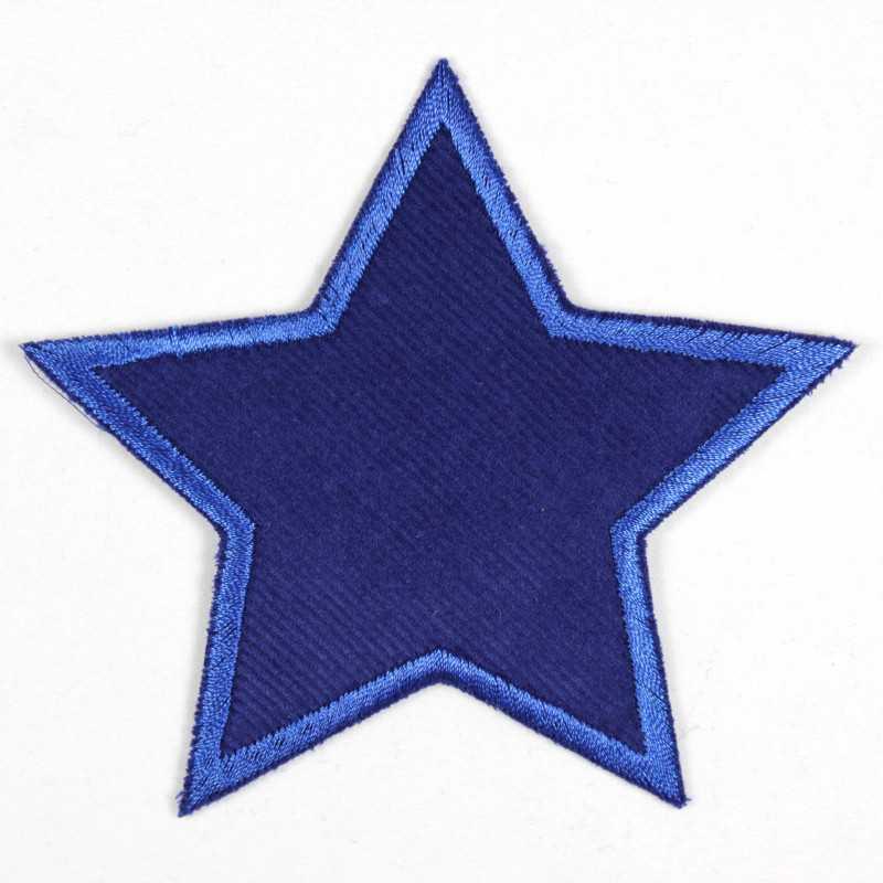 Applikation zum Aufbügeln Bügelbild 14 658 Minis 3 Sterne