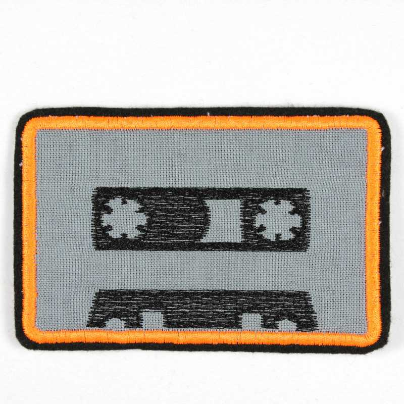 Iron-on patch tape application to iron on or patches and accessories