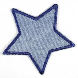 Flickli Stern Jeans hellblau dunkelblaue Umrandung