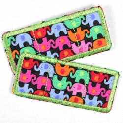 Flickli Trostpflaster Set Elefanten grün
