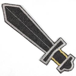 Flickli Schwert schwarz groß