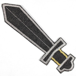 Flickli - the patch! sword black large