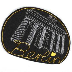 """Brandenburger Tor"" Berlin Brandenburg Gate black"