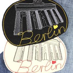 """""""Brandenburger Tor"""" Berlin Brandenburg Gate beige"""
