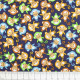 timeless treasures fabrics colored monkeys on darkblue