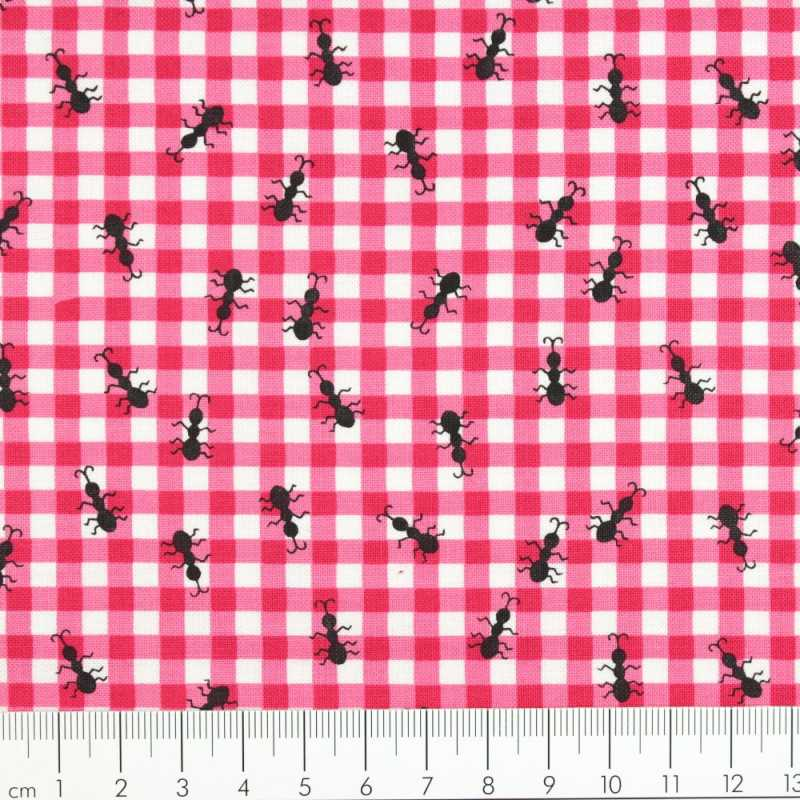 timeless treasures fabrics ants on pink