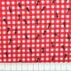 Baumwollstoff Ameisen auf rot