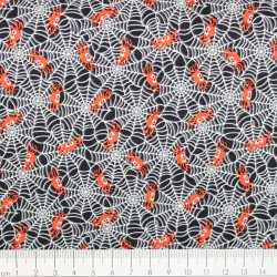 timeless treasures fabrics ants on red
