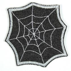 Spinnennetz schwarz