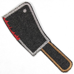 Flickli - the patch! cleaver black