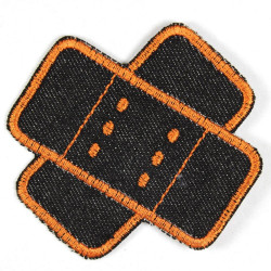 Flickli - the patch! jeans plaster patches black