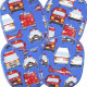 iron on patches set retro emergency cars fire engine helicoptre