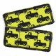 Flickli Trostpflaster Set Autos gelb