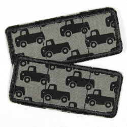 Flickli - the patch! Set cars black