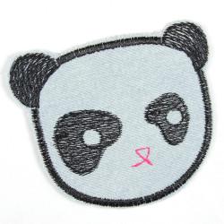 Flickli Panda hellblau Bär