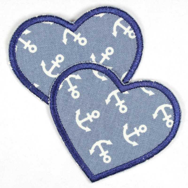 Flickli hearts jeans light blue dark blue medium