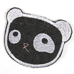 Flickli - the patch! panda lightblue