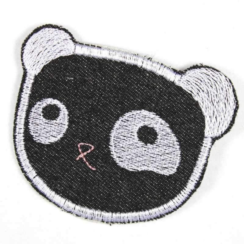 Flickli - the patch! panda lightblue