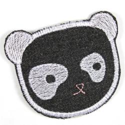 Flickli Panda schwarz Bär