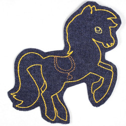 Flickli - the patch! pony blue