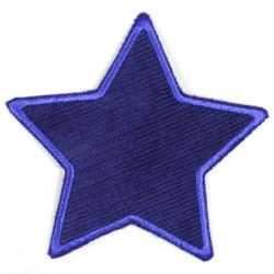 Flickli Stern Feincord blau blau umfasst