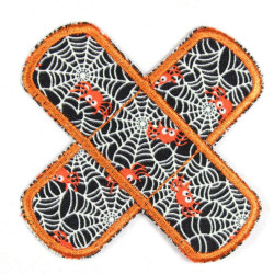 Flickli - the patch! plaster spiders glow in the dark