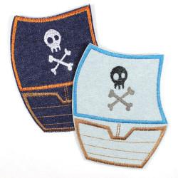 Flickli - the patch! pirate ship