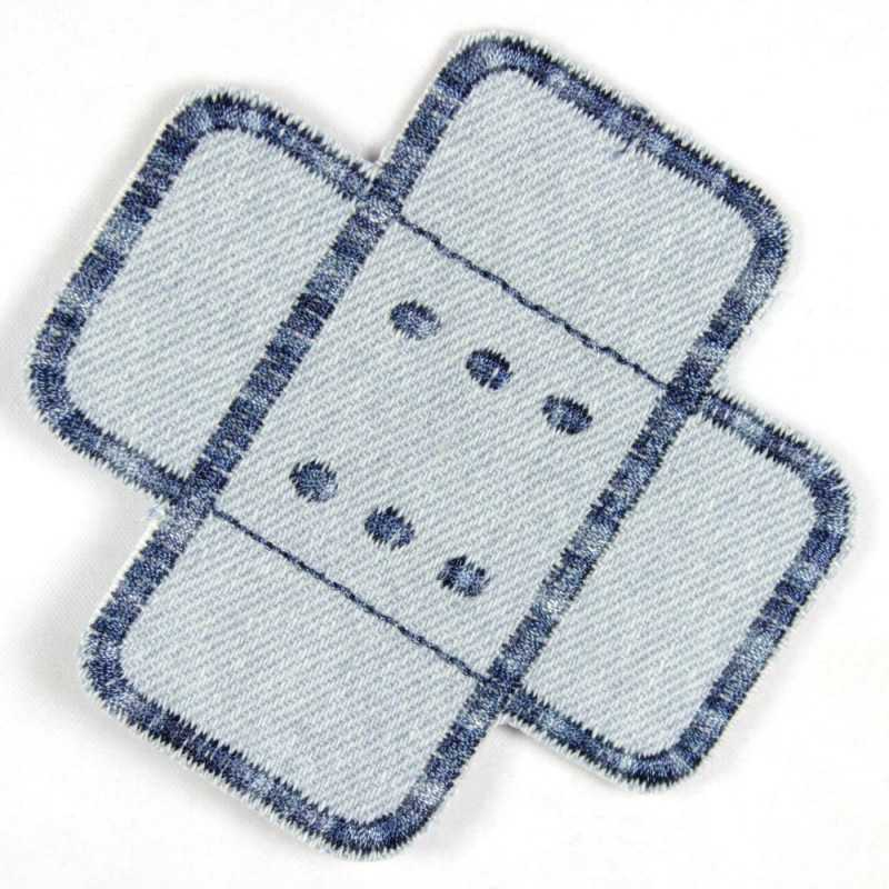 Flickli - the patch! jeans plaster patches lightblue multicolor straight