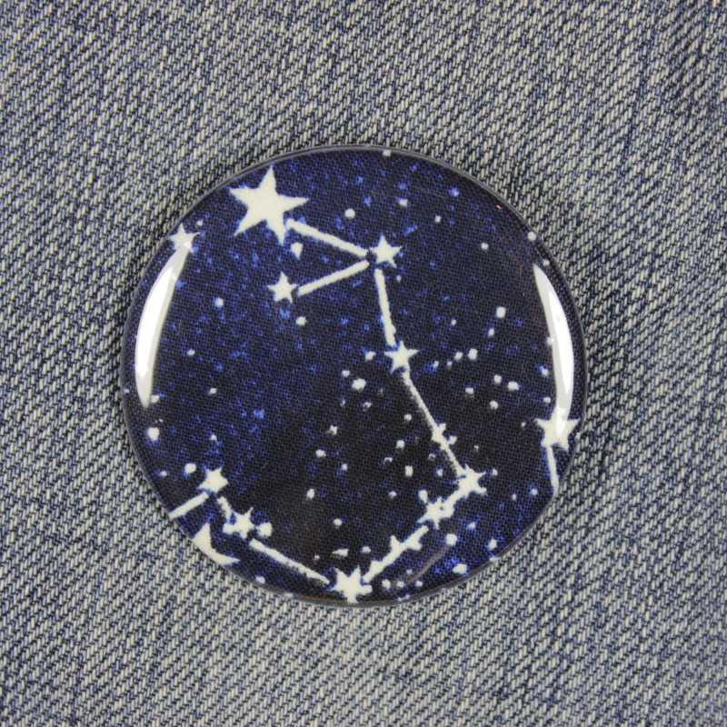Button constellation glow in the dark