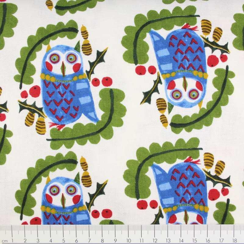 kokka fabrics cotton airplane on blue