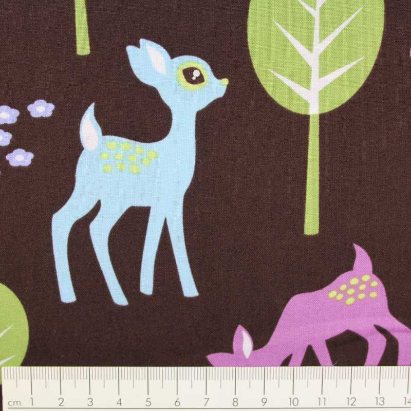 Michael Miller deer cotton fabric