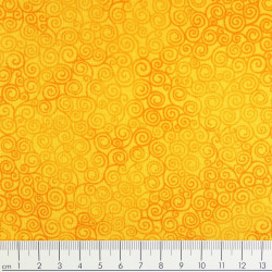 timeless treasures fabrics Jazz tangy cotton fabric yellow