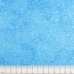 timeless treasures fabrics Jazz pool cotton fabric aquamarin
