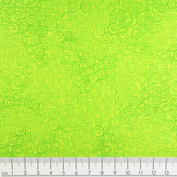 timeless treasures fabrics Jazz spring cotton fabric light green