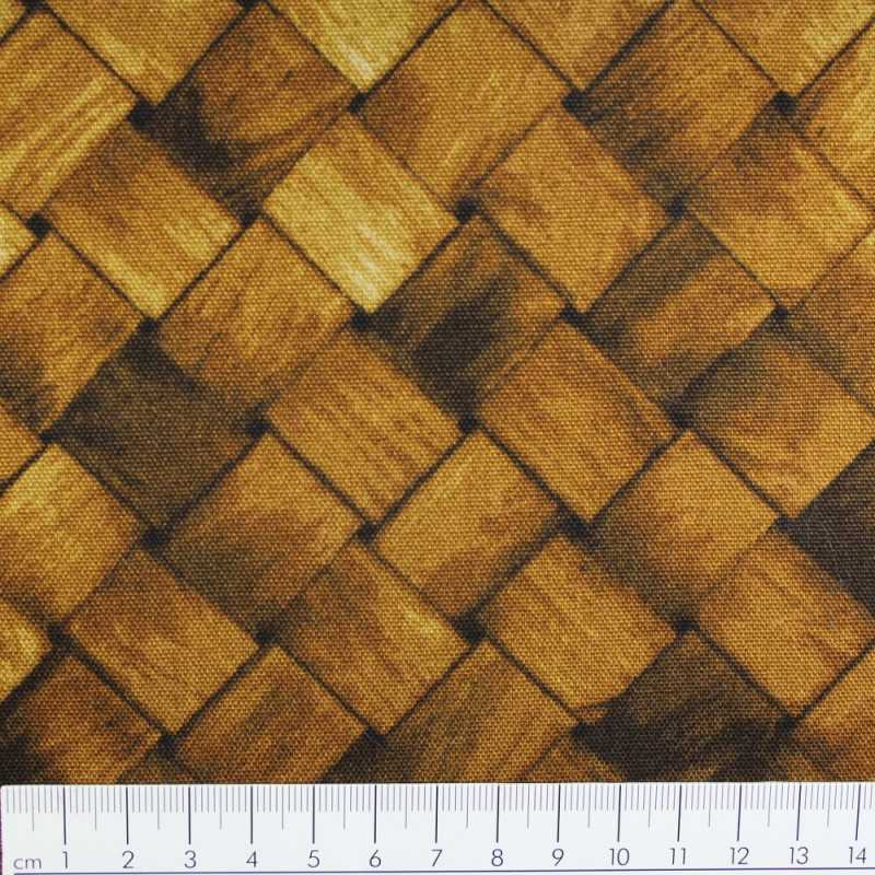 cosmo fabrics cotton fabric wood mesh