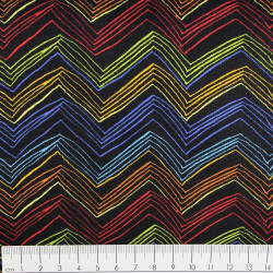 Baumwollstoff timeless treasures fabrics chevron-c Stoff