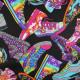 Baumwollstoff timeless treasures fabrics Rollschuhe