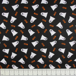 timeless treasures fabrics cotton fabric ghosts boo!