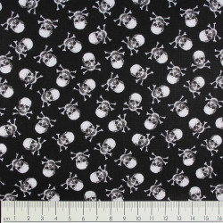timeless treasures fabrics cotton fabric skulls mini