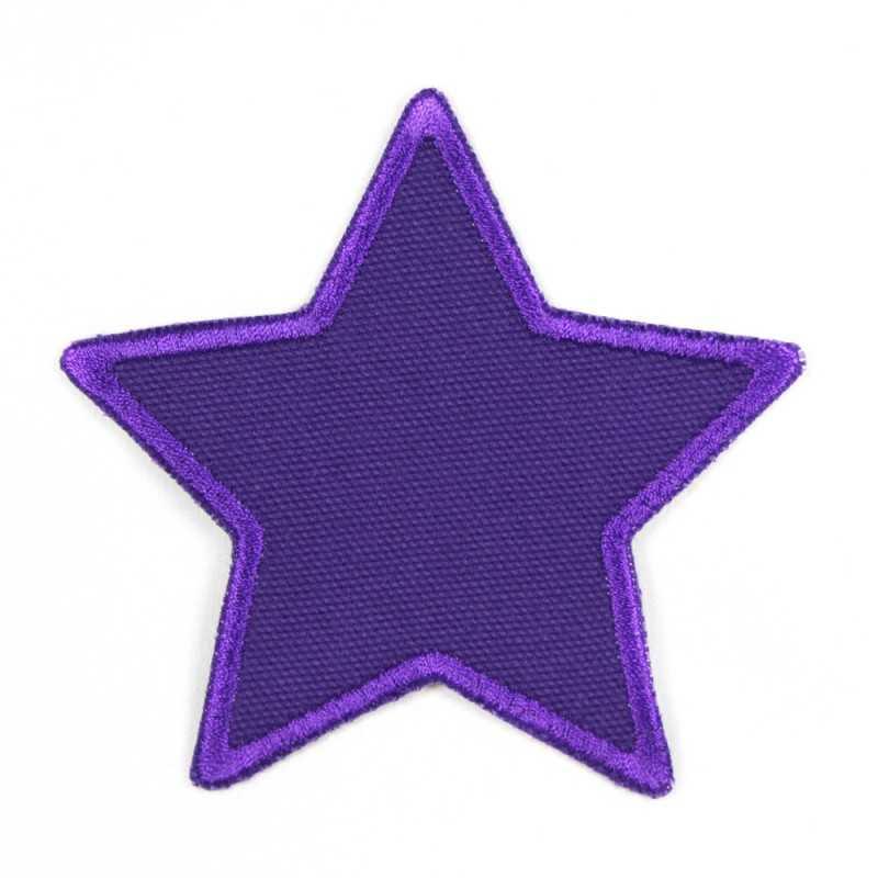 Flickli - the patch! Star canvas purple