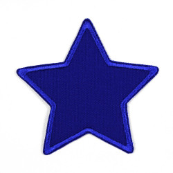 Flickli - the patch! canvas star blue