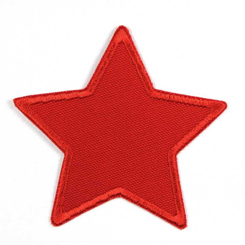 Flickli - the patch! canvas star red