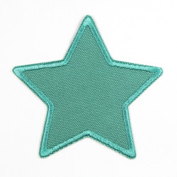 Flickli - the patch! canvas star mint