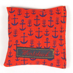 Lavender pillow anchor blue
