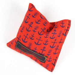 Lavender pillow anchor red